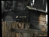 На Мичуринских дачах сгорела баня