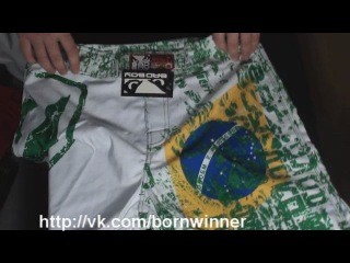 Bad Boy Brazil Fight Shorts