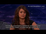 Nina Dobrev Gets Sex Scene Tips From Her Mom - CONAN on TBS ( РУС СУБ)